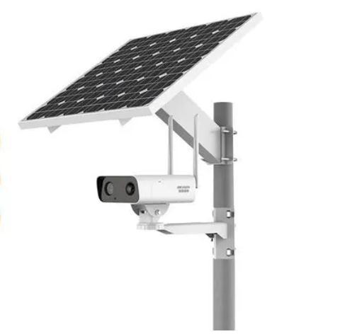 海康威视4g监控太阳能电池免插电监控摄像头